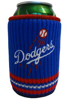 Picnic Kingdom - Los Angeles Dodgers Woolie Neoprene and Knit Can Cooler, $12.50 (http://www.picnickingdom.com/los-angeles-dodgers-woolie-neoprene-and-knit-can-cooler-mlb-licensed/)