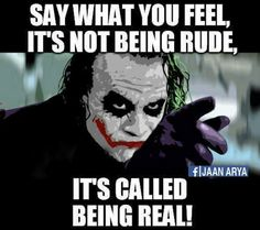 40 Ideas for quotes sarcastic deep Joker Qoutes, Joker Frases, Best Joker Quotes, Badass Quotes, Epic Quotes, Superb Quotes, Dark Quotes, Wise Quotes, Attitude Quotes