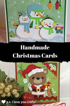389 best handmade christmas cards images on pinterest in 2018 copy these handmade christmas cards and impress your friends they will be excited to receive m4hsunfo
