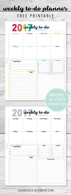 Free Printable Irma Weekly Planner - Portrait By Eliza Ellis - The