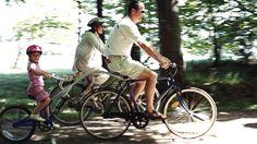 Family holiday on a bike Denmark