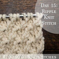 Seriously ladies, this is one of my favorite stitches. I just love the simplicity and texture!