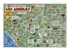 Fun Maps USA - The Cartoon Map Capital of the World!