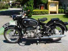 Motocicleta Bmw R60 - Ano 1961 - Placa Preta - Impecável - R$ 42.500,00