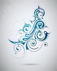 waves swirl tattoo - Google Search