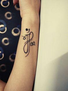 New Body Art Tattoos Men Ideas Tatoo Ideas Mom Dad Tattoo Designs, Maa Tattoo Designs, Mom Dad Tattoos, Wrist Tattoos Girls, Father Tattoos, Tattoo Designs Wrist, Hand Tattoos For Women, Side Tattoos, Tattoos For Daughters