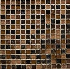 Hammered Pearl Brown & Gold Mix Mosaic Tile