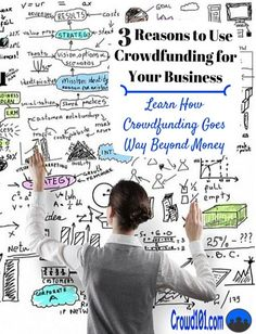 3 reasons every #business owner should be crowdfunding - and none of them are money. Learn how #crowdfunding can take your small business to the next level. Small business funding, small business financing, small business crowdfunding #smallbusiness #entrepreneur