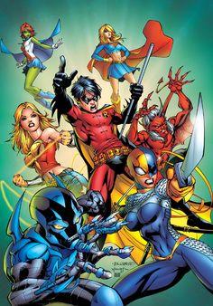 Teen Titans - Clash Of The Titans