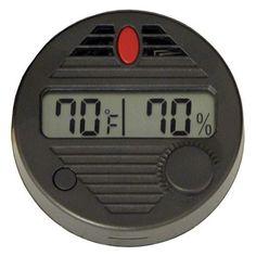 Digital Hygrometer for Humidors