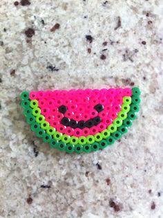Perler beads watermelon