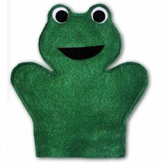 Frog Hand Puppet Sewing Pattern