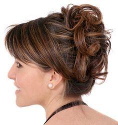 peinados para fiestas | Peinados De Fiesta De Noche