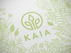Working on a packaging for KAIA natural cosmetics. Bio Packaging, Cosmetic Packaging, Packaging Design, Branding Design, Cosmetic Logo, Cosmetic Design, Bio Logo, Clover Logo, Ideas