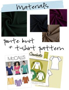 Today we have a great post from another one of our knit ladies! Meg from Made by Meg is going to show you how to make a peplum tshirt out ...