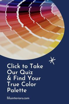 Take our color quiz to find a color palette for your interior including neutrals, accent colors and grounding colors based on the things you love! Click to start the Quiz! #quiz #colorpalette #interiorcolorscheme #interiorcolorpalette Interior Color Schemes, Interior Design Advice, House Color Schemes, Home Interior, Accent Colors, Neutral Colors, Blue Choice, Color Quiz, Blue Palette