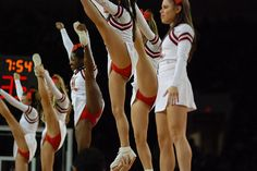 An http://www.GogelAutoSales.com RePin     #Cheer, stunt, heel stretch, college cheerleading, University of Louisville vs Seton Hall Basketball 3-4-2009  #KyFun     We'd Love you to Like us on FB! https://www.facebook.com/GogelAuto  Since 1962, Rt. 10, East Hanover