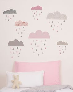 clouds wall decor