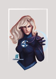 FF are returning to their comic run soon and I'm looking forward to it so I thought I'd do a quick Sue paint. And now with Disney acquiring . Marvel Comic Character, Comic Book Characters, Marvel Characters, Comic Books Art, Comic Art, Book Art, Marvel Fan Art, Marvel Heroes, Fantastic Four