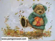 Decorative Painting Pattern Packet Autumn by PamGonnasonDesigns, $7.50