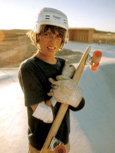 A Santa Monica skateboarder, California, 1977. Photo by Hugh Holland.