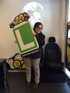 LORENA FERNÁNDEZ!!! #hoyvoy #autoescuela #badalona