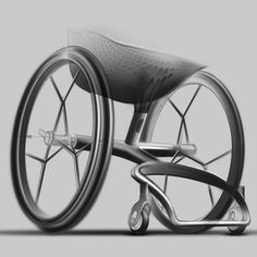 Benjamin Hubert's London studio Layer unveils designs for a made-to-measure wheelchair that will be manufactured using 3D-printing technology.