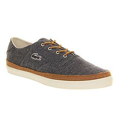 ab03a21fb28d Lacoste GLENDON DARK BLUE Shoes - Lacoste Trainers - Office Shoes