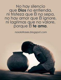 No hay silencio que Dios no entienda