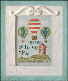 Up Up and Away - Cross Stitch Pattern