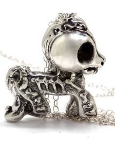"""My Dead Little Pony"" Necklace by Blue Bayer Design 3inkedshop #mylittlepony @deadlittlepony #necklace #kitch"