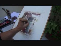 Painting Watercolours with Fabio Cembranelli in Spain - YouTube