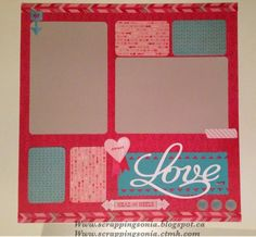 Scrapping Sonia's Paper Projects: January's Hearts of the West Team Heartstrings Blog Hop #ctmh #heartstrings #closetomyheart