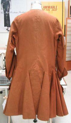Coat Date: ca. 1735 Culture: British Medium: wool, silk Dimensions: Length at CB: 40 1/2 in. (102.9 cm) Credit Line: Purchase, Irene Lewisohn Bequest, 1984 Accession Number: 1984.273