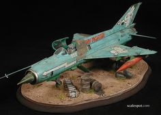 The undoubtedly very talented reporter and sometimes modeller Gary Wickham sends us a report from the front lines of the former conflic. Scale Models, The Modelling News, Mig 21, Military Modelling, Military Diorama, Aircraft Pictures, Model Airplanes, Model Building, Art Model