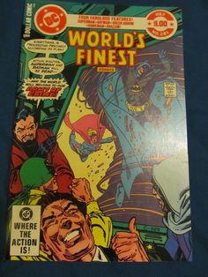 World's Finest 281 NM Superman/Batman/Green Arrow/Hawkman/Shazam!