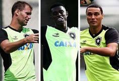 BotafogoDePrimeira: Carli, Marcelo ou Emerson Silva? Trio disputa 2 va...