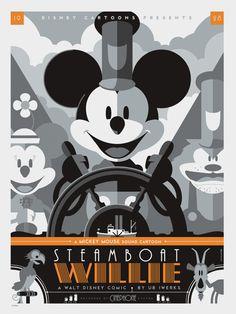 Os incríveis posters vetorizados de Tom Whalen - Choco la Design   Design é como chocolate, deixa tudo mais gostoso.