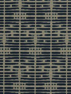 Tissu d'ameublement bleu marine  tissu par greenapplefabrics, $69.00