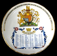 Copy of Royal Wedding Charles Diana Comport Aynsley 1981 Genealogy Pedestal Bowl