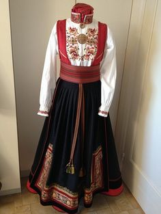 Story Ideas, Norway, Scandinavian, All Things, Two Piece Skirt Set, Textiles, Culture, Costumes, Children