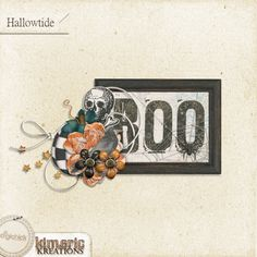 Scrapbooking TammyTags -- TT - Designer - Kimeric Kreations, TT - Item - Element, TT - Style - Cluster, TT - Theme - Halloween