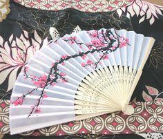 Image detail for -japanese fan, silk fans