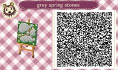 """overlordfreya:  """"I finally found the original brown steppin' stones (in a size you can scan) made by the now deactivated lilycovecrossing. All credit goes to her for these.  I made grey stone edits to the originals, but that's all. Feel free to use!..."""