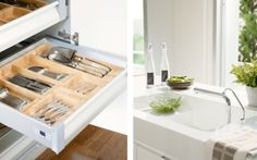 Comfortable Kitchen from Modern Minimalist Kitchen with White Color Design Ideas 600x376 Modern Minimalist Kitchen with White Color Design Ideas
