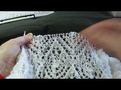 Совместник 2.6 / Вяжем шаль Ольги Бочкарёвой « Осенний букет» / Схема 2 ( ряды 139-146 ) 27.02.2018 - YouTube Lace Knitting Stitches, Hand Knitting, Filet Crochet Charts, Needlepoint Designs, Knitting Videos, Knitted Shawls, Free Pattern, Knit Crochet, Weaving