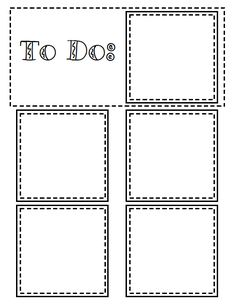 @May Mitchell  Someone made a printable sticky note chart.