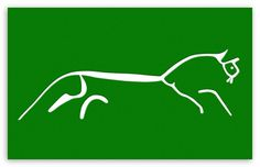 next tattoo maybe? Uffington Horse. Thinking in white ink on the back of my neck ;-)