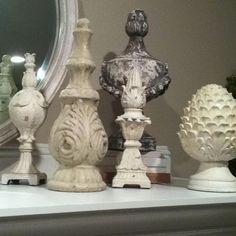 Finials collection!