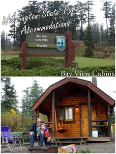 Washington's State Park Accommodations: Inside our Bay View State Park Cabin - wildtalesof.com